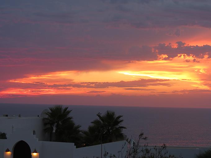 sunset-pink