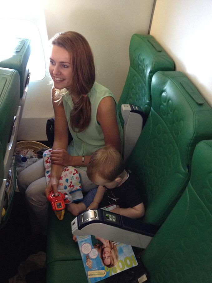 Eerste keer vliegen naar Ibiza